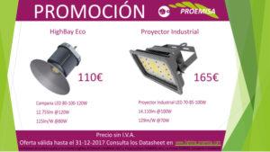 Promoción highbay eco y proyector