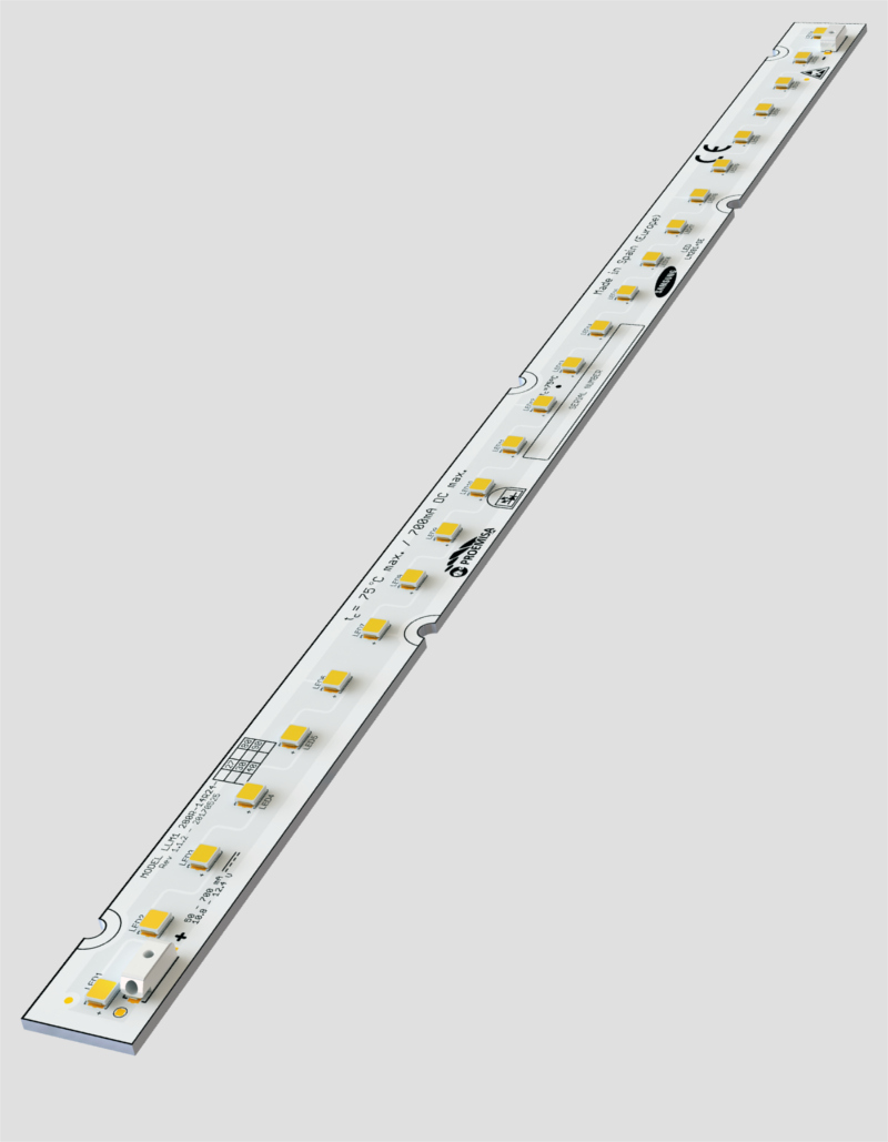 Tira LED rígida 14,5mm