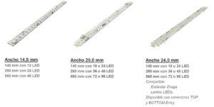 tiras LED Proemisa